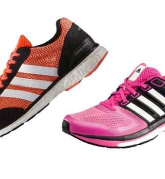 Imagen diferencia entre zapatillas running de hombre y de mujer